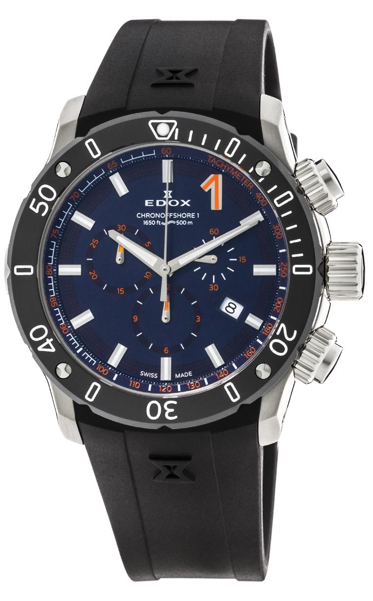 Часы Edox CO-1 Chronograph  10221 3N BUINO