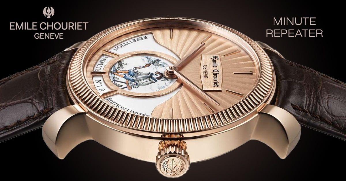 Watches Emile Chouriet Minute Repeater