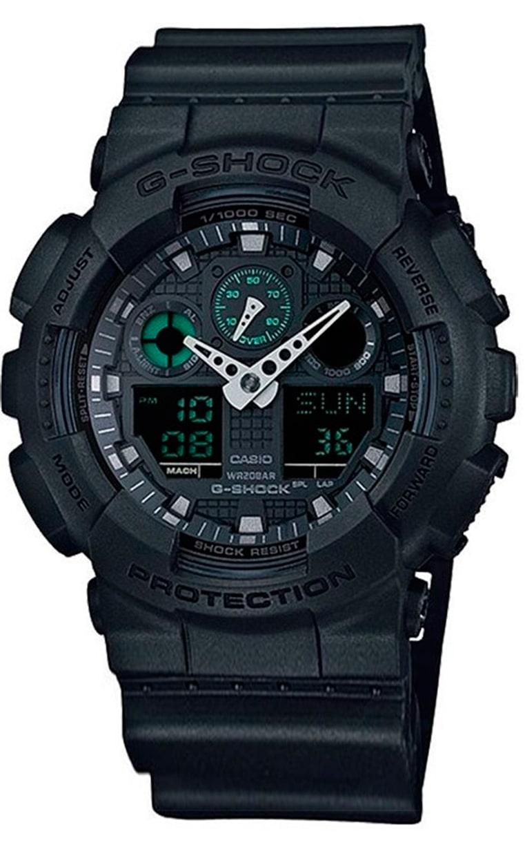 Часы CASIO G-SHOCK GA-100MB-1AER