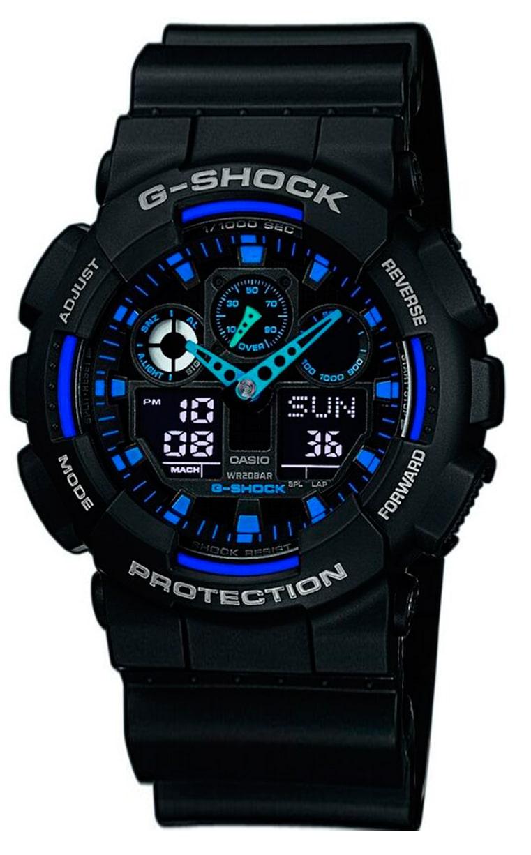 Часы CASIO G-SHOCK GA-100-1A2ER