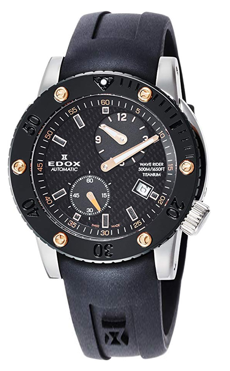 Часы EDOX Class One Regulator Automatic 77001 TINR NIO