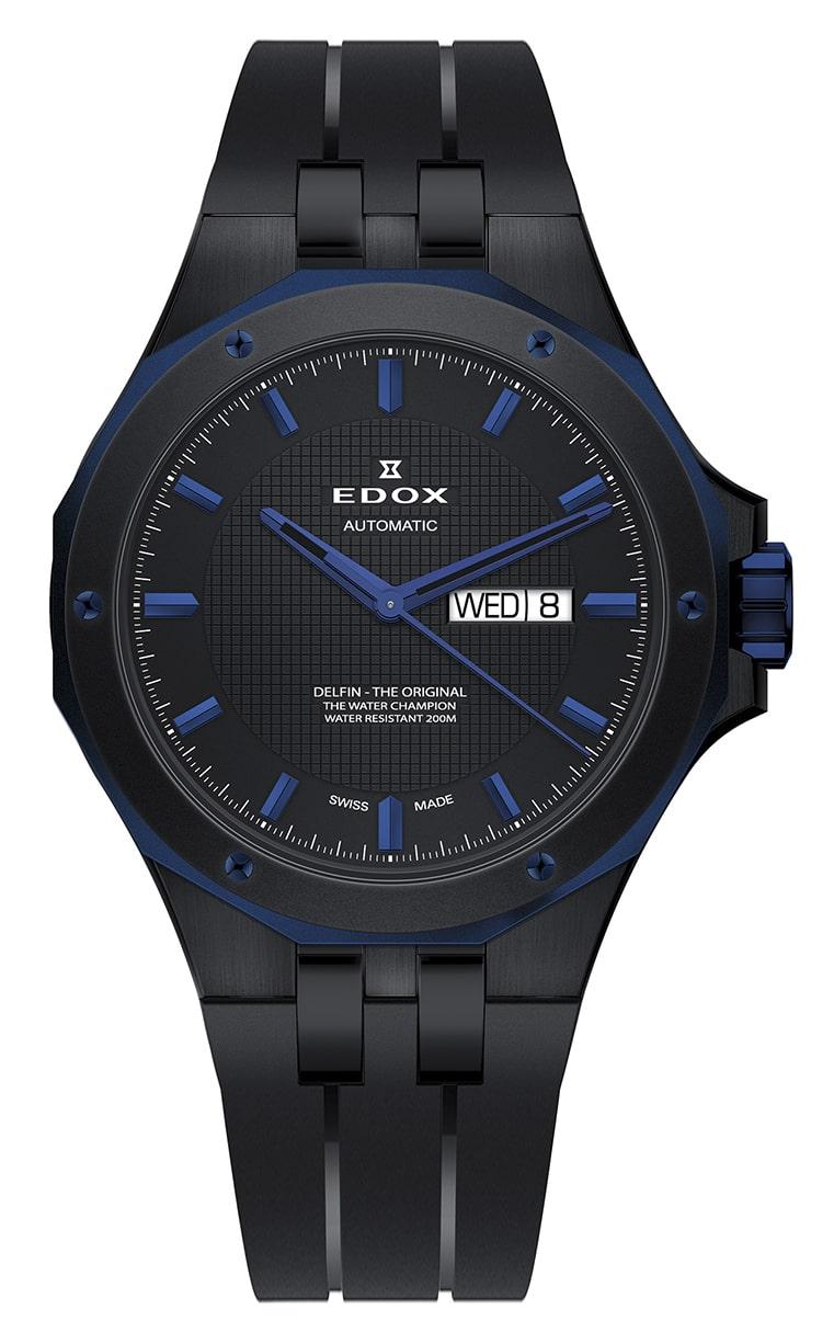 Часы Edox Delfin Day/Date Automatic 88005 357BUNCA NIBU