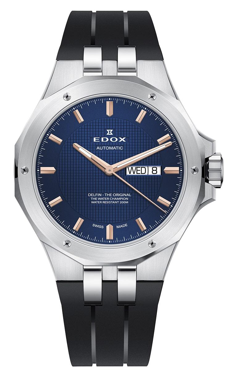 Часы Edox Delfin Day/Date Automatic 88005 3CA BUIR