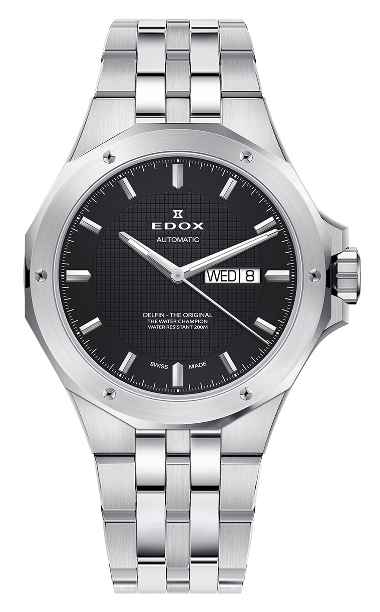 Часы Edox Delfin Day/Date Automatic 88005 3M NIN