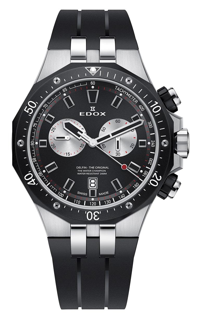 Часы Edox Delfin Chronograph 10109 357NCA NINRO