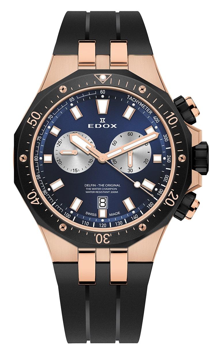 Часы Edox Delfin Chronograph 10109 357RNCA BUIRA