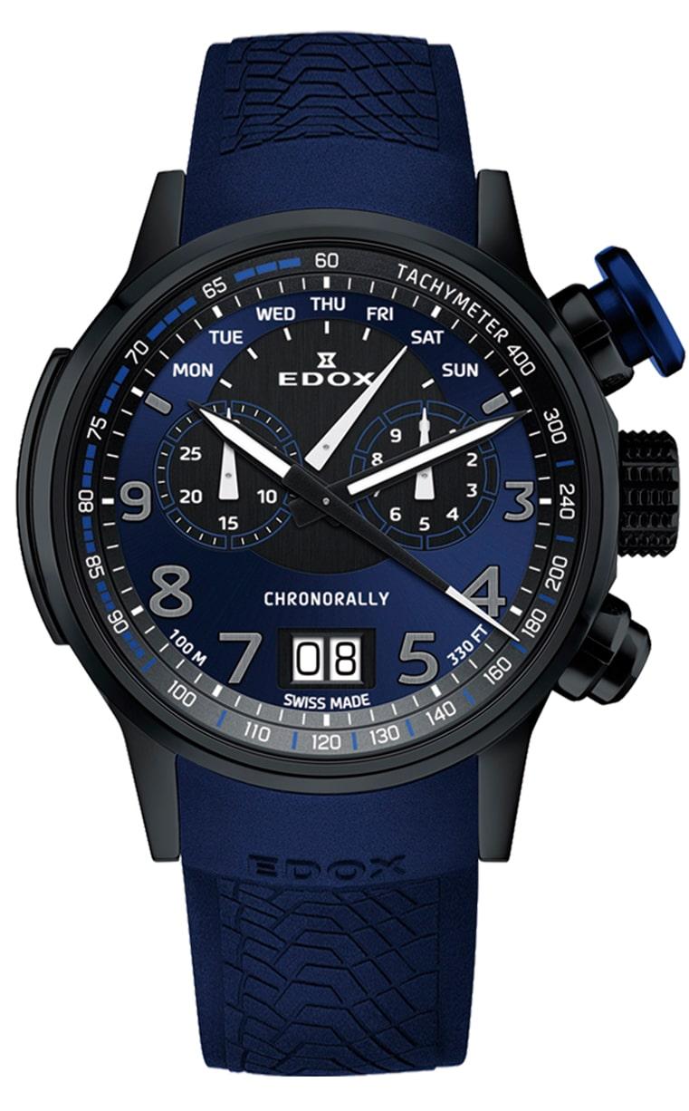 Часы Edox Chronorally Chronograph 38001_TINNBUF3_BUF3