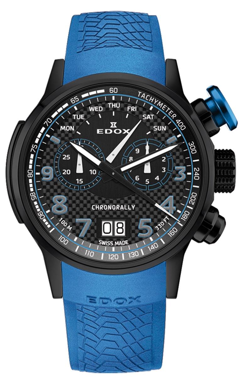 Часы Edox Chronorally Chronograph 38001_TINNBU3_NIBU3