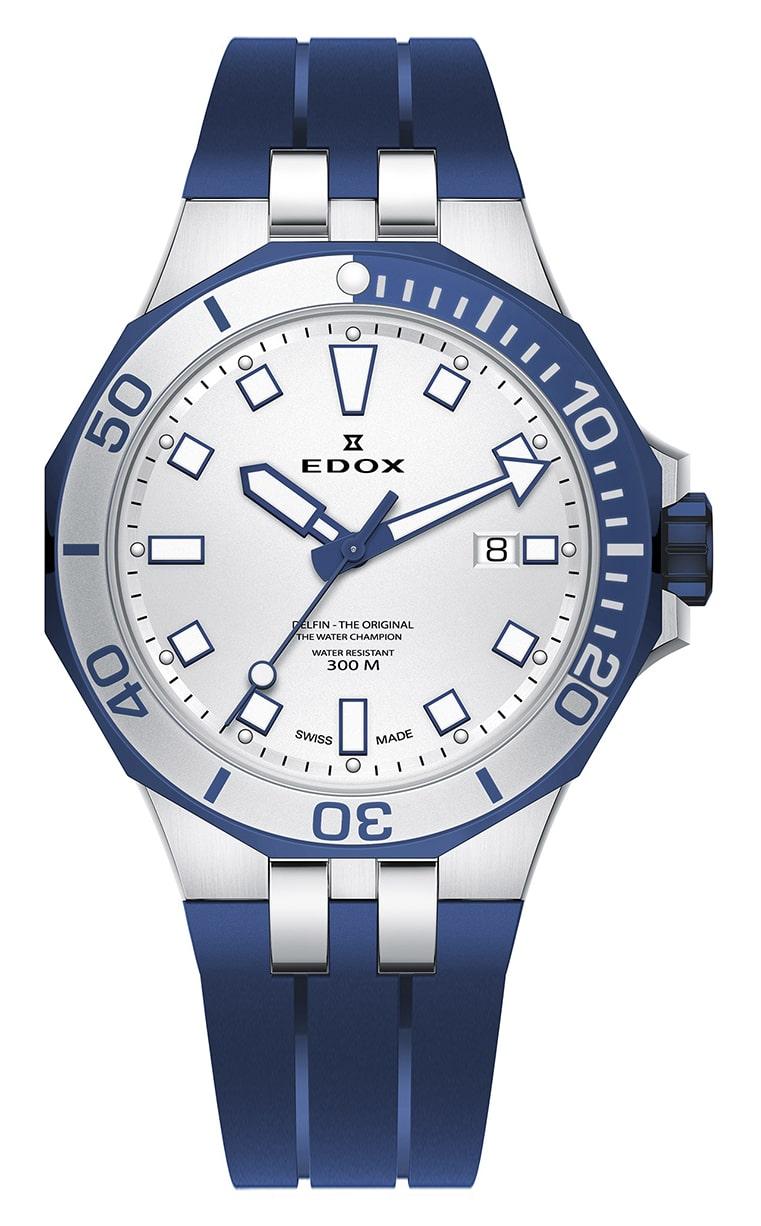 Часы Edox Delfin Quartz 53015 357BUCA AIBU