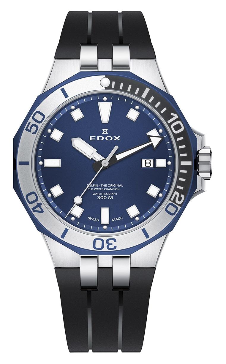 Часы Edox Delfin Quartz 3-Hands 53015 357BUNCA BUIN