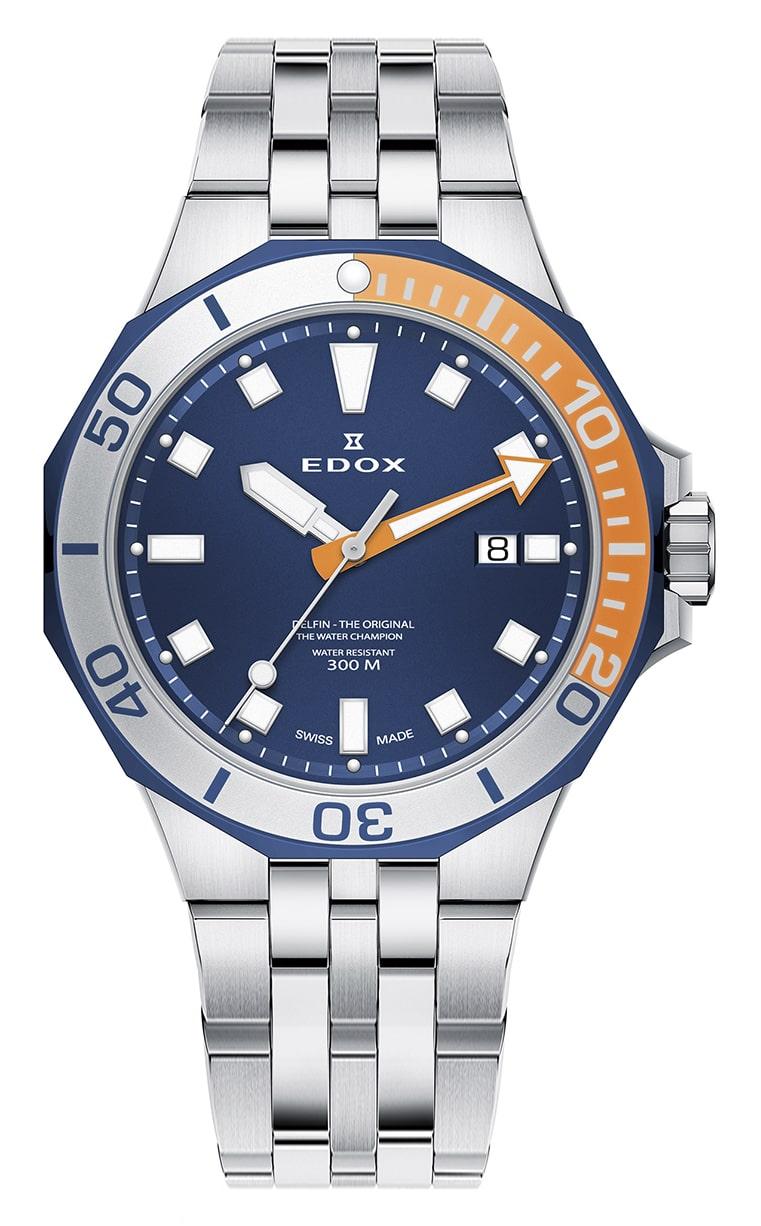 Часы Edox Delfin Quartz 53015 357BUOM BUIN