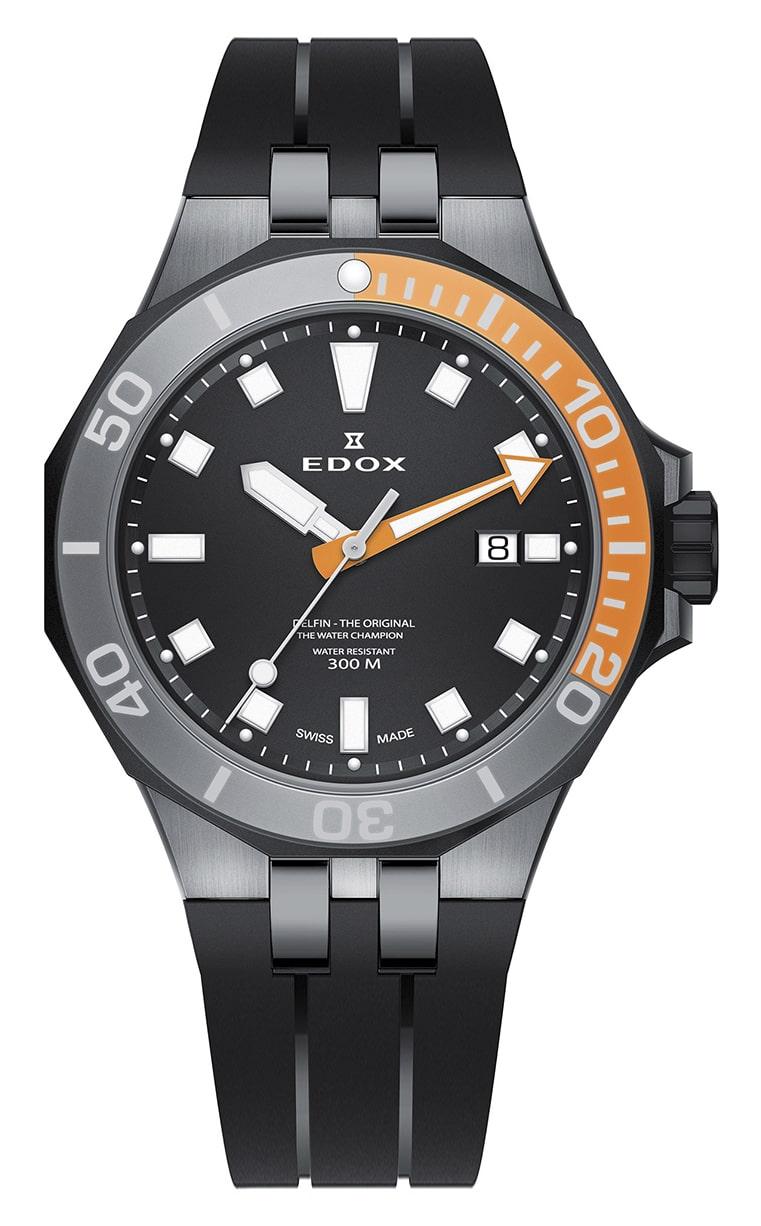 Часы Edox Delfin Quartz 53015 357GNOCA NIN