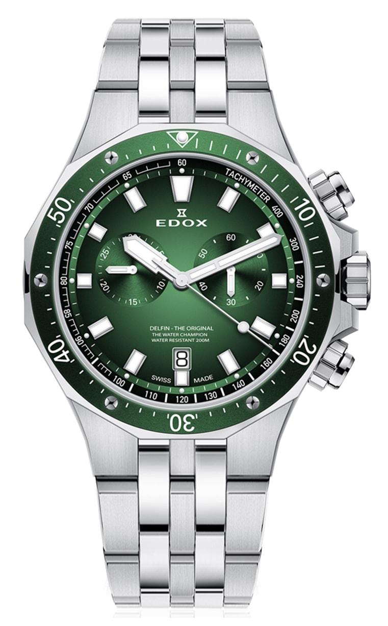 Часы Edox Delfin Chronograph 10109 3VM VIN