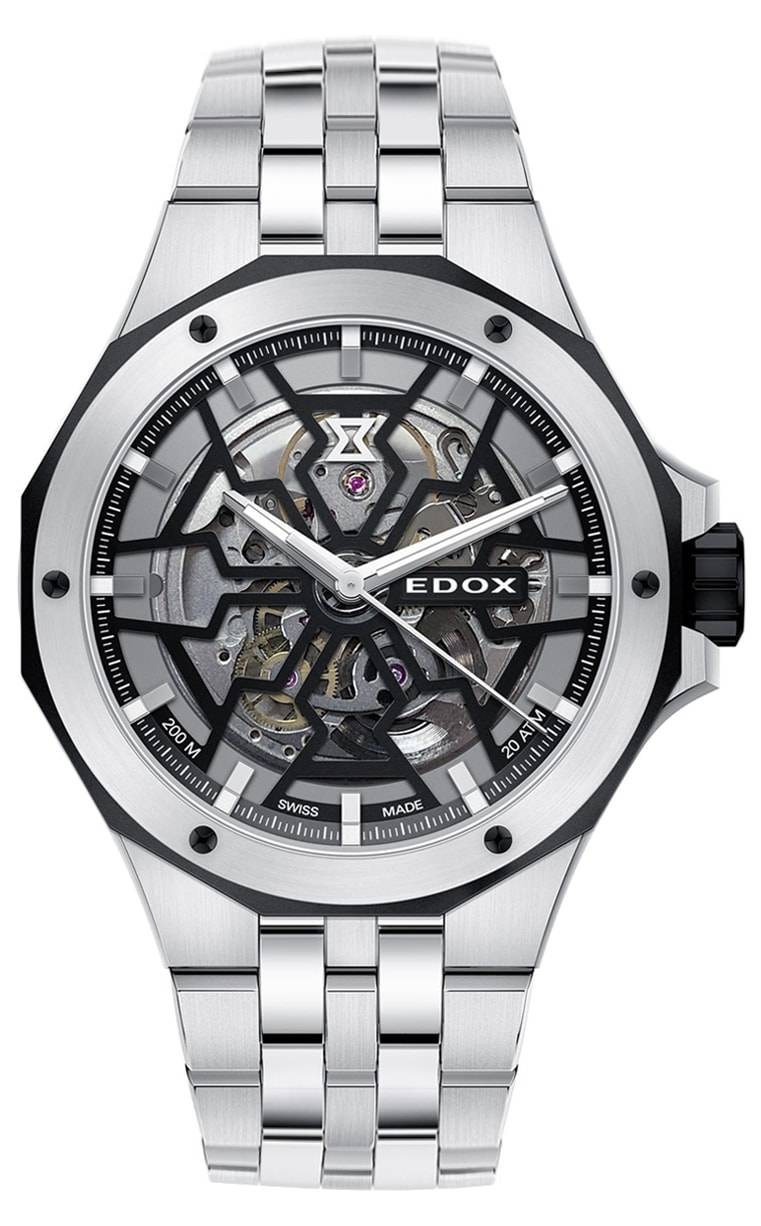 Часы Edox Delfin Mecano 85303 3NM NBG