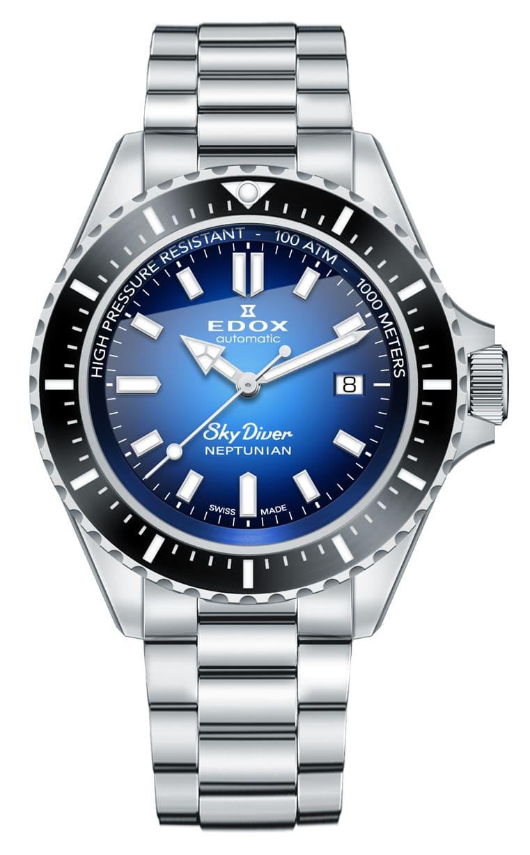 Часы Edox SKYDIVER Neptunian 80120 3NM BUIDN
