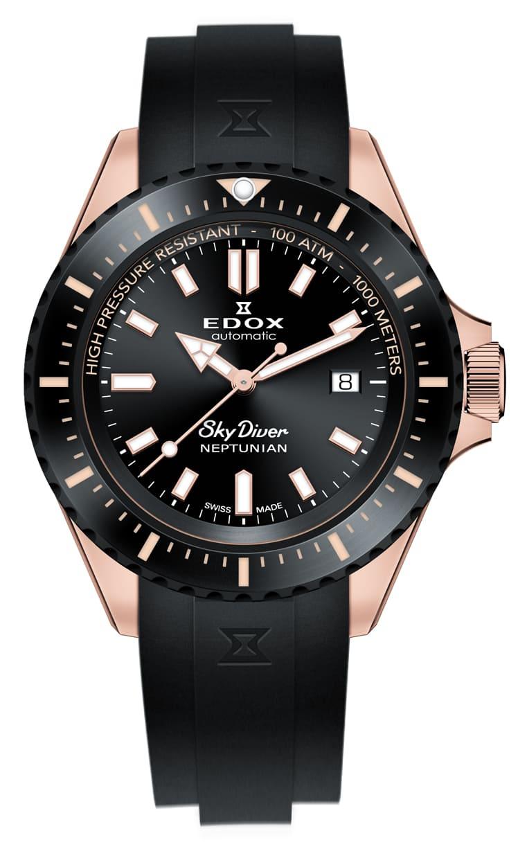 Часы Edox SKYDIVER Neptunian  80120 37RNNCA NIR