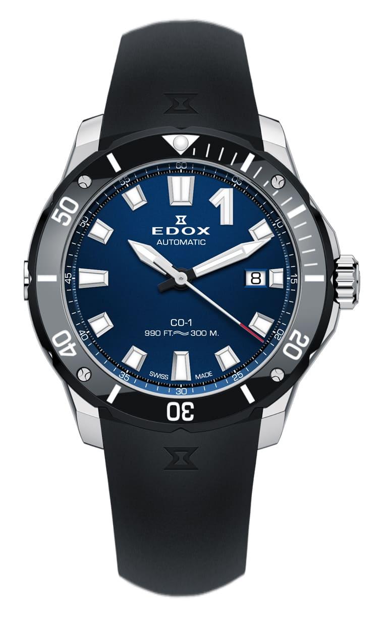 Часы Edox CO-1 Date Automatic 80119 3N BUIN