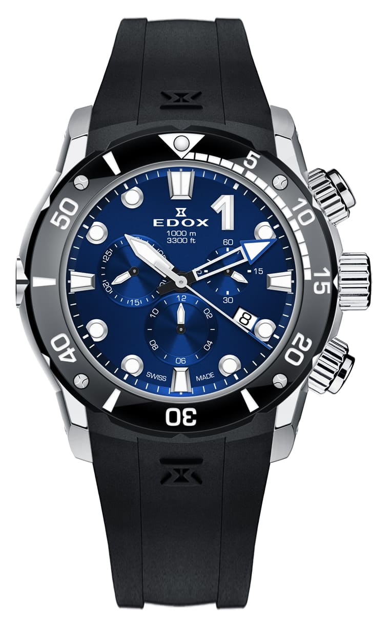 Часы Edox CO-1 Chronograph 10242 TIN BUIN