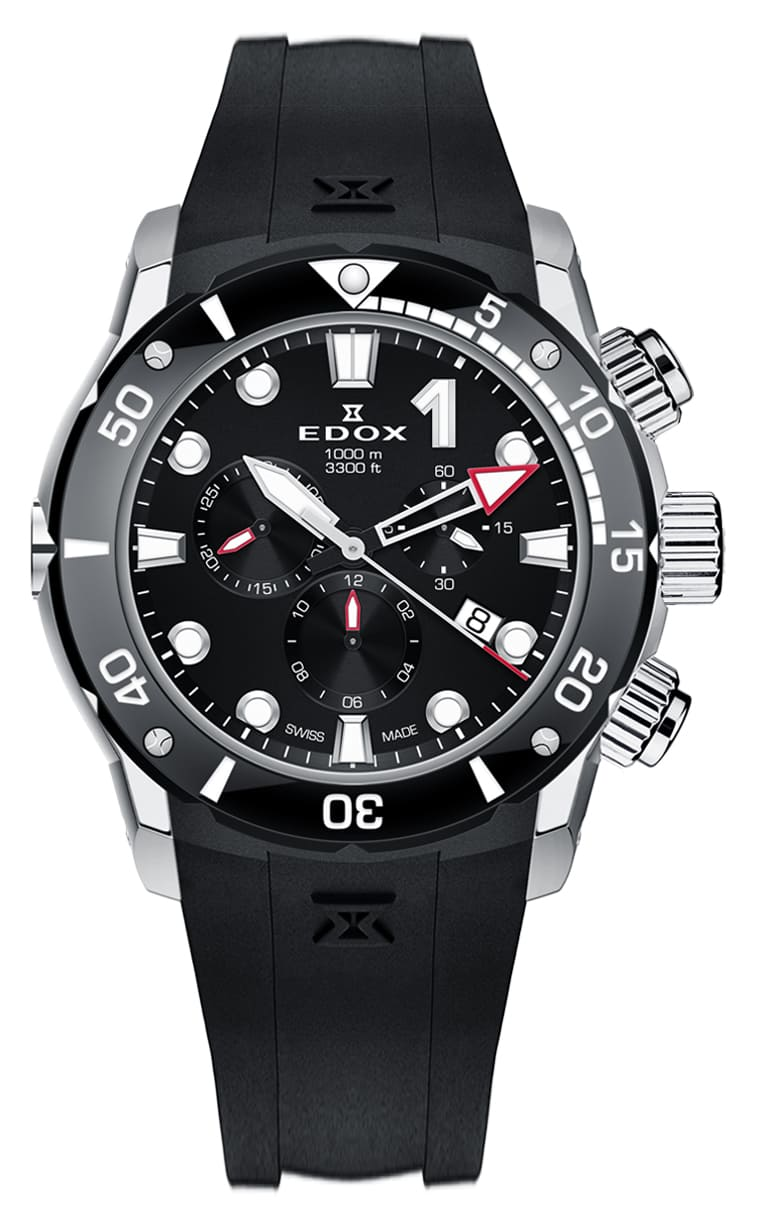 Часы Edox CO-1 Chronograph 10242 TIN NIN