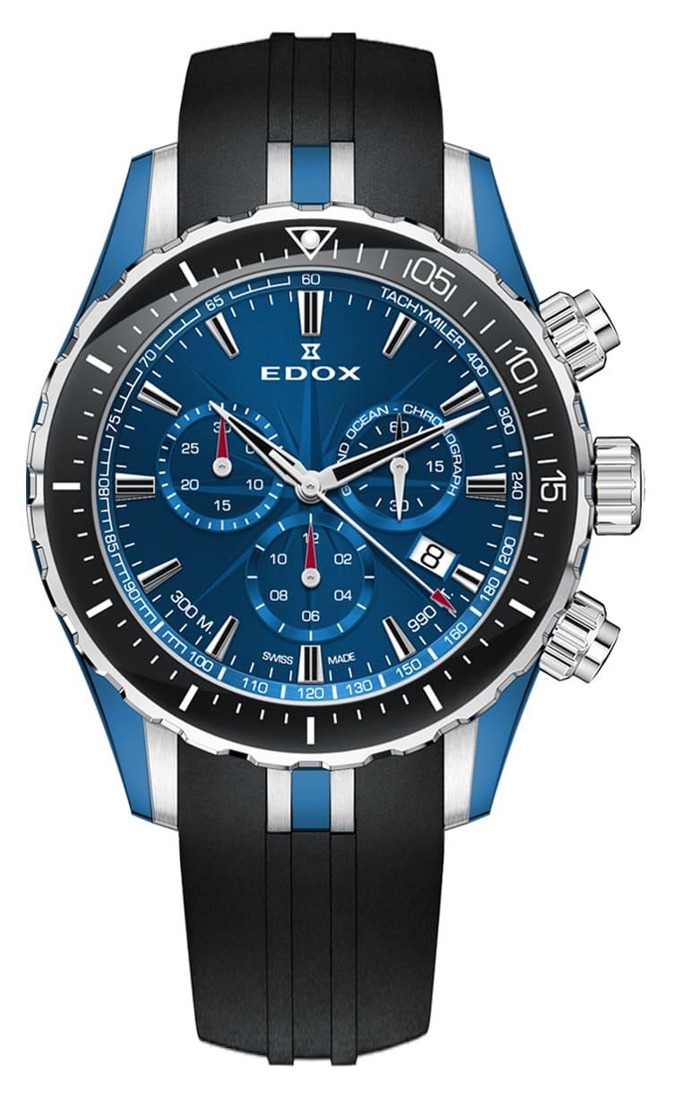 Часы Edox GRAND OCEAN Chronograph 10248 357BU BUIN