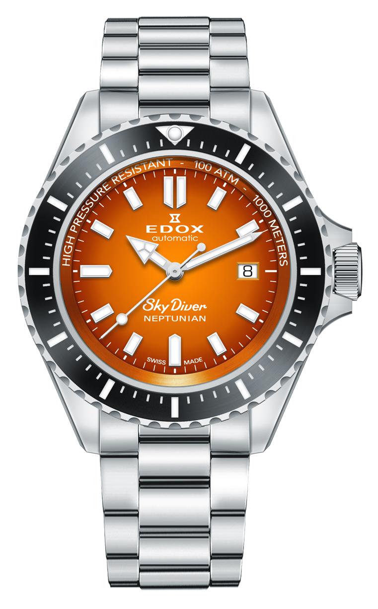 Часы Edox SKYDIVER Neptunian 80120 3NM ODN