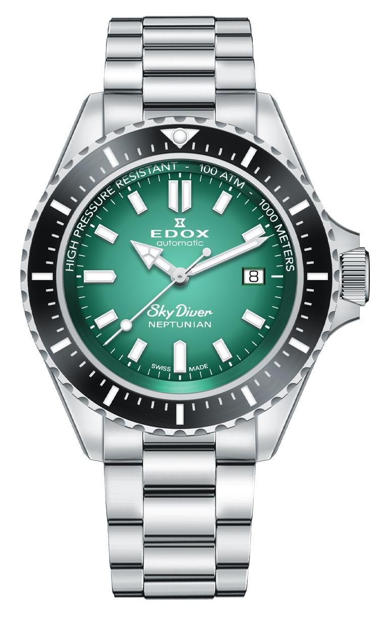 Часы Edox SKYDIVER Neptunian 80120 3NM VDN