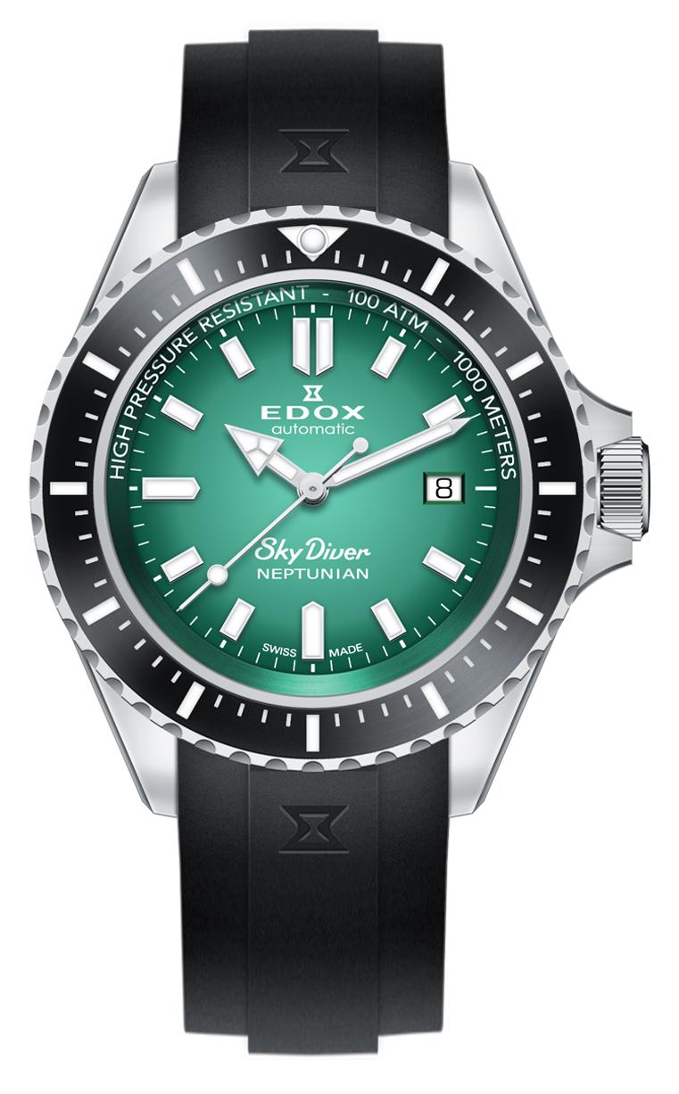 Часы Edox SKYDIVER Neptunian 80120 3NCA VDN
