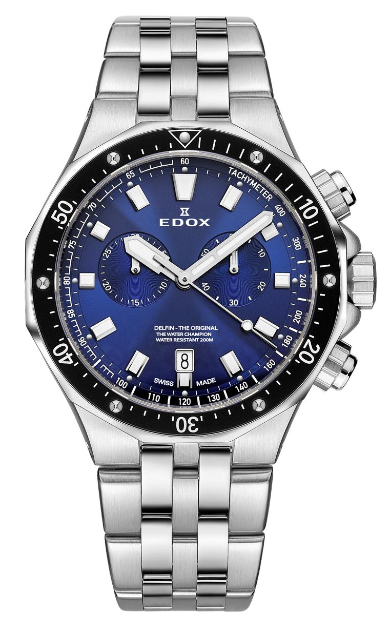 Часы Edox Delfin Chronograph 10109 3M BUIN1