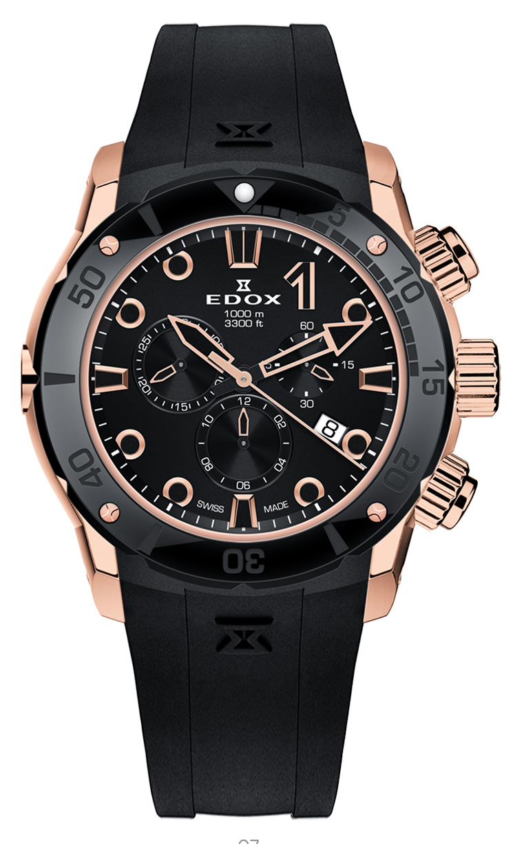 Часы Edox CO-1 Chronograph 10250 37R NIR