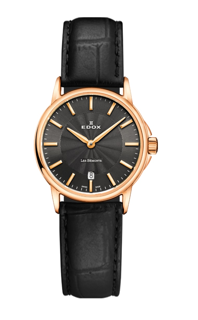 Часы Edox Les Bemonts Ultra Slim 57001 37R GIR