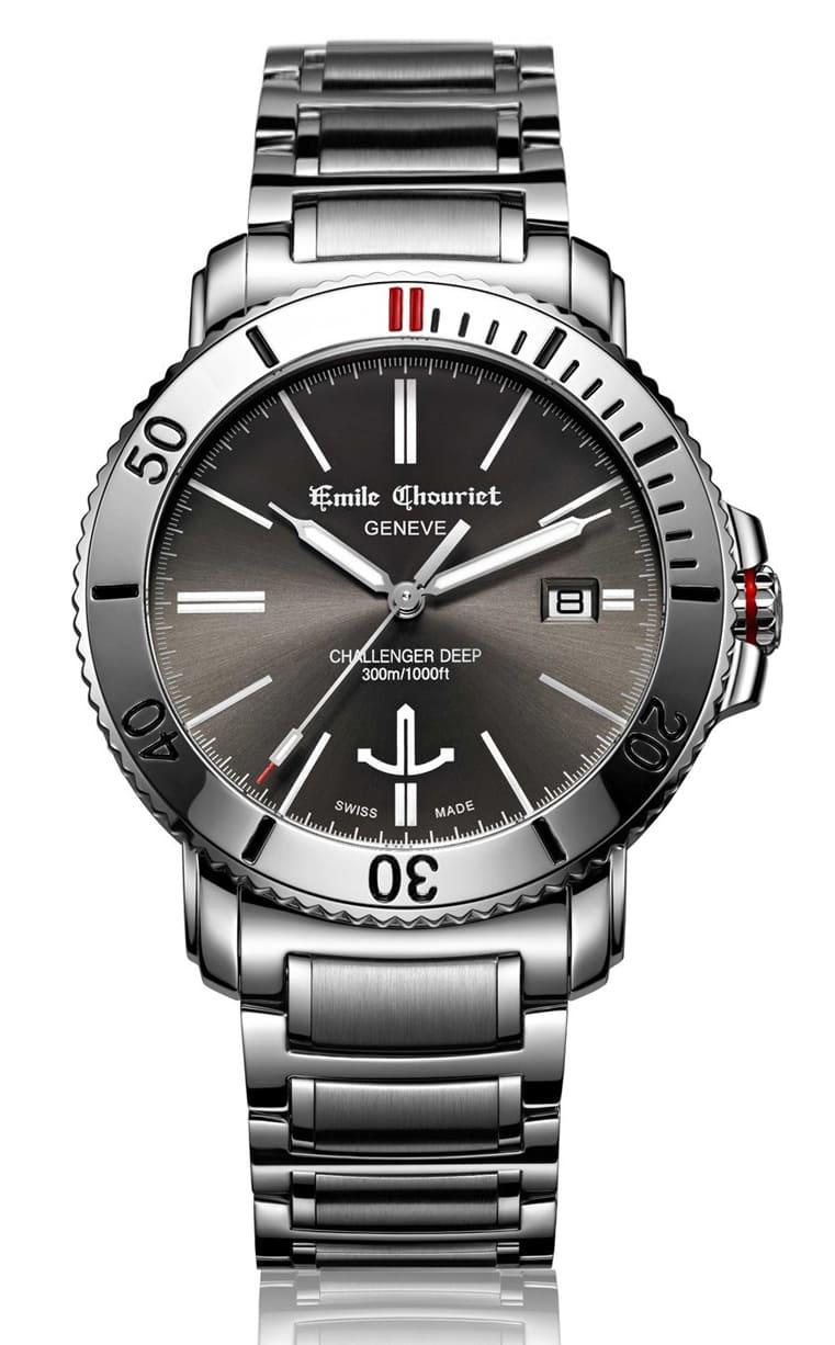 Часы Emile Chouriet Challenger Deep 42.5 mm 08.1169.G.6.W.68.6