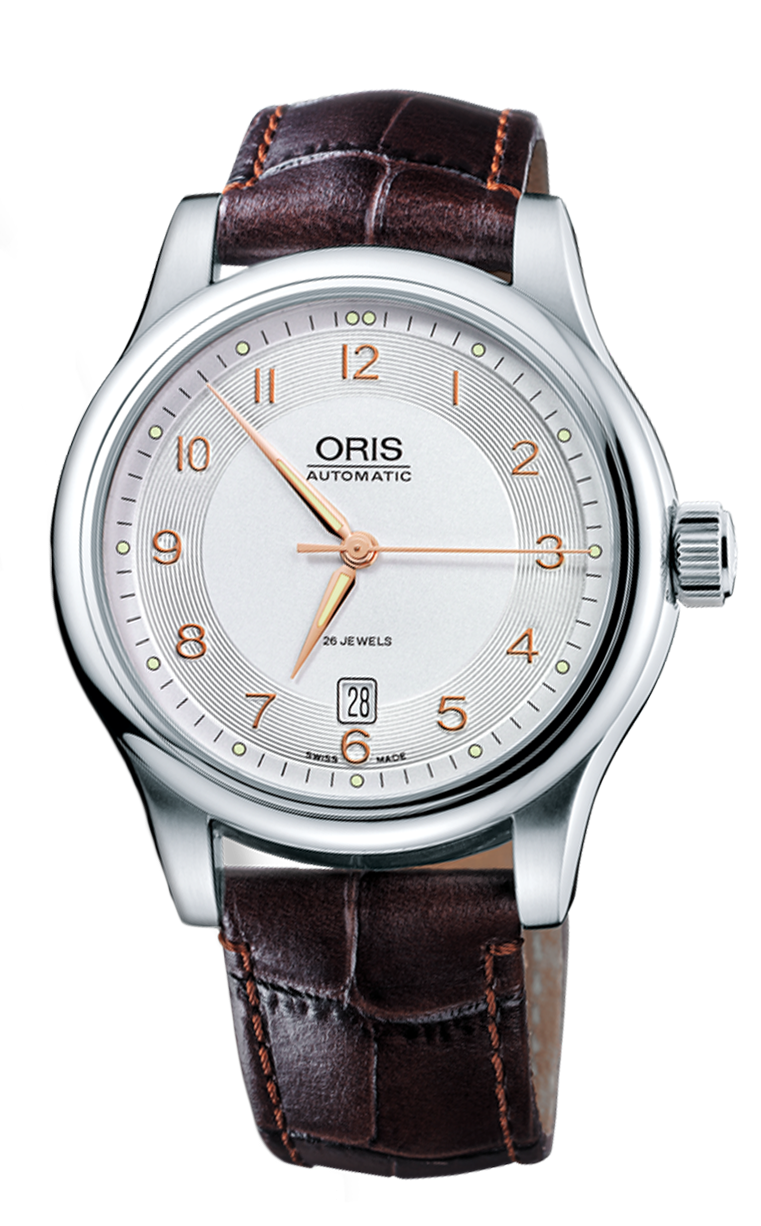 Часы Oris 733 7594 4061 LS.5.20.12 Classic Date Culture 42mm