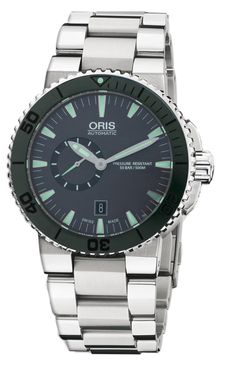 Часы Oris Aquis Small Second Date 743 7673 4157 RS 4 26 34EB