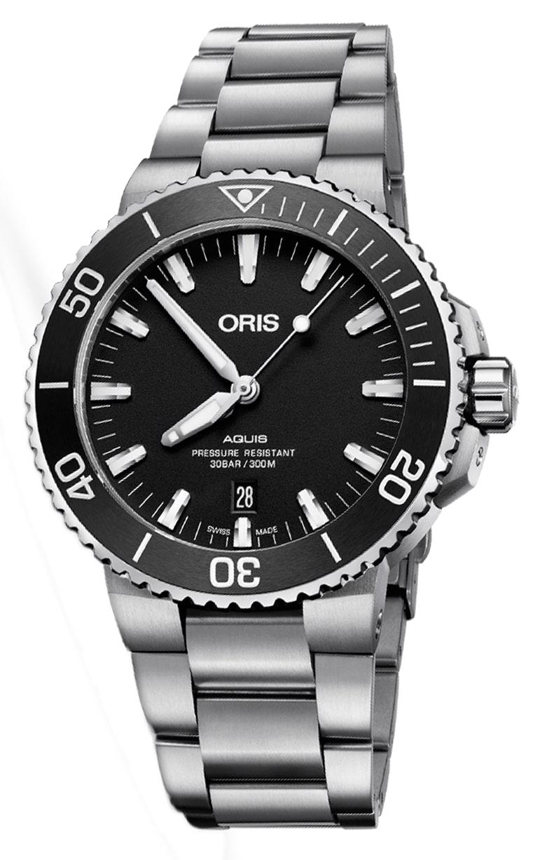 Oris Diving Aquis Date 733.7730.4154 MB 8.24.05PEB