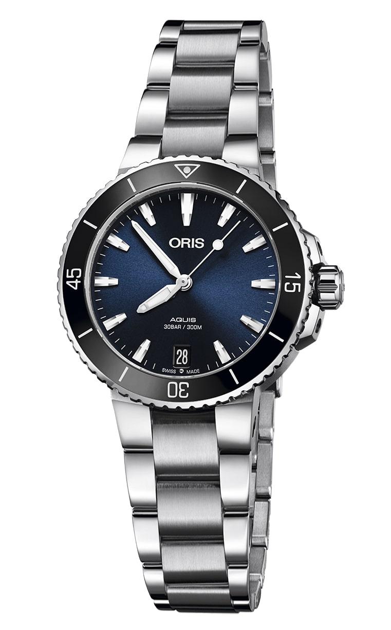 Часы Oris Diving Aquis Date Lady 733.7731.4135 MB 8.18.05P