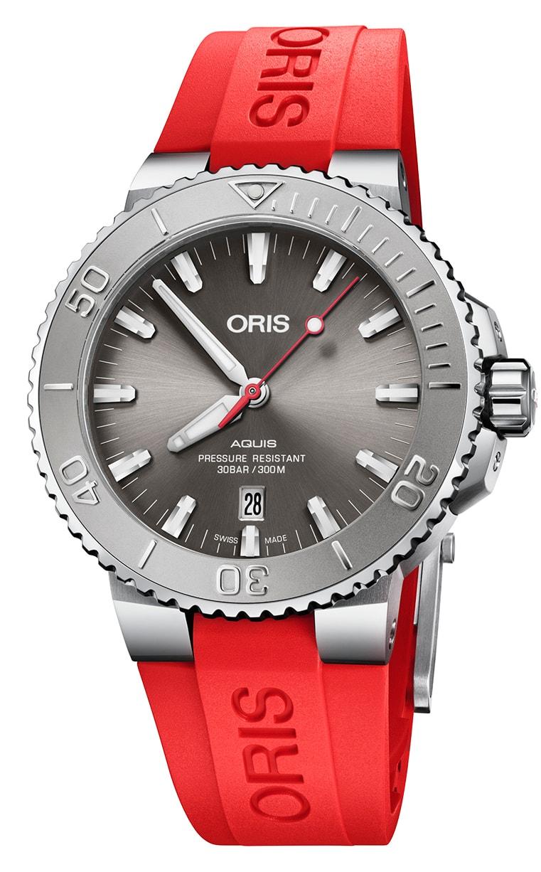 Часы Oris Diving Aquis Date Relief 733.7730.4153 4.24.66EB