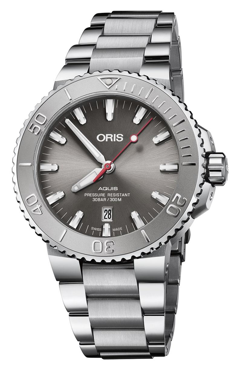 Часы Oris Diving Aquis Date Relief 733.7730.4153 MB 8.24.05PEB