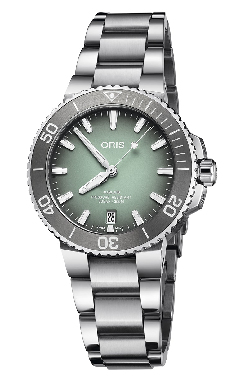 Часы Oris Diving Aquis Date 733.7732.4137 MB 8.21.05PEB