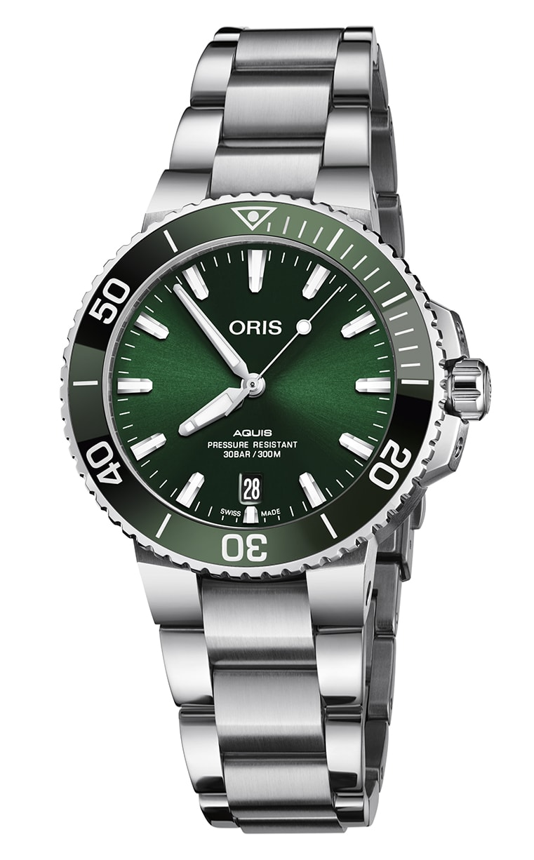 Часы Oris Diving Aquis Date 733.7732.4157 MB 8.21.05PEB