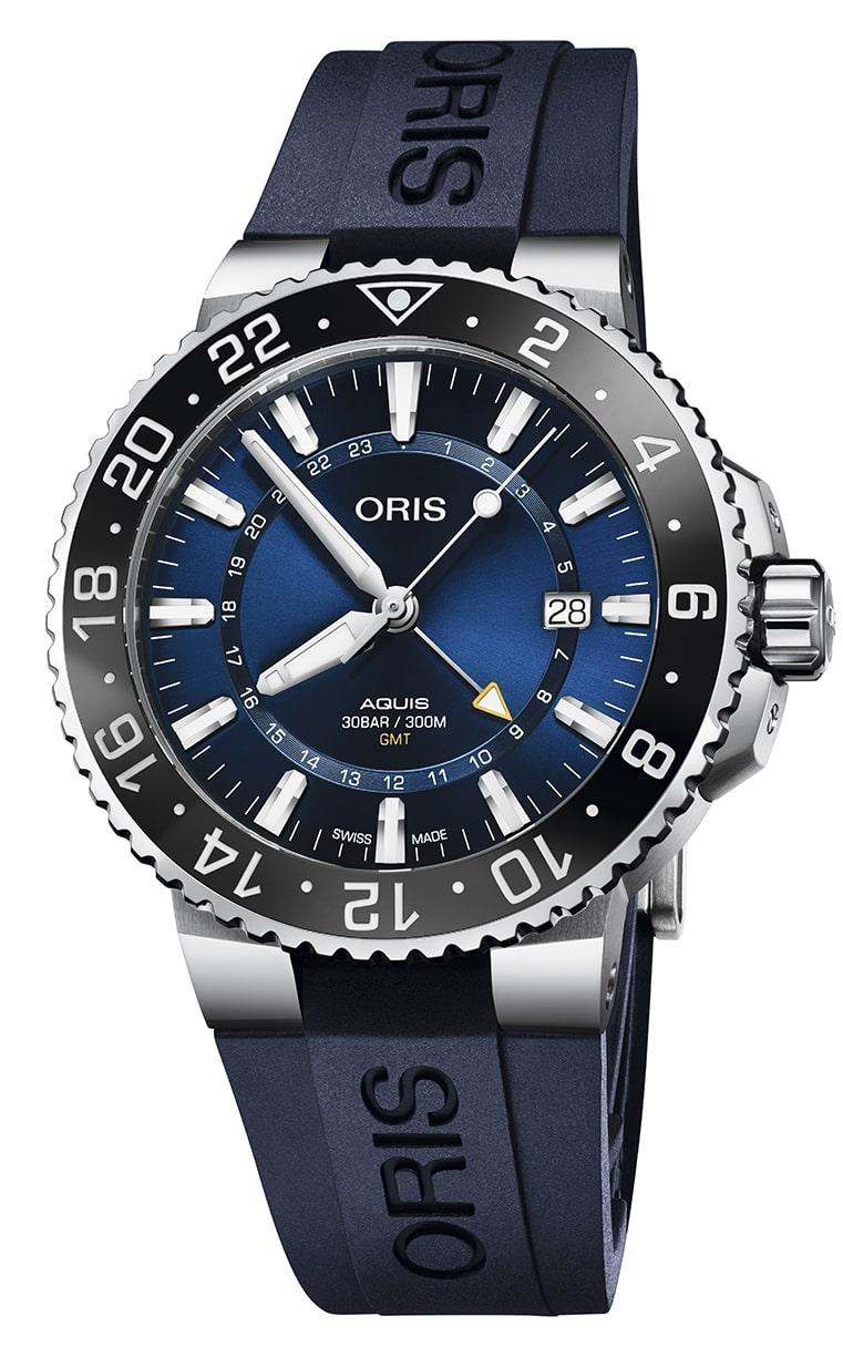 Часы Oris Diving Aquis GMT Date 798.7754.4135 RS 4.24.65EB