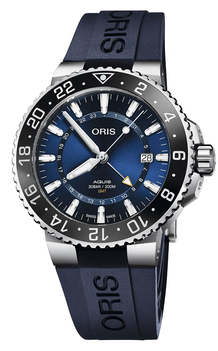 Часы Oris Diving Aquis GMT Date 798.7754.4135 RS 4.24.65EB
