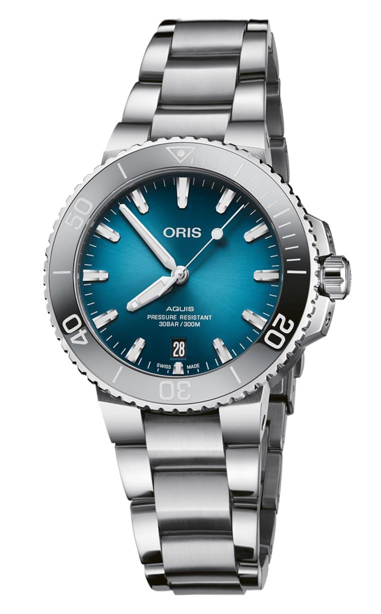 Часы лимитированной серии Oris Aquis Date 733.7732.4155 MB 8.21.05