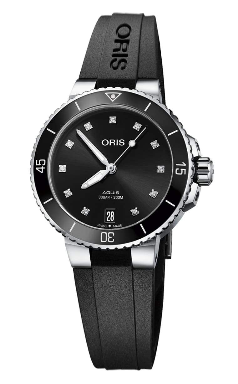 Часы Oris Diving Aquis Date Diamonds 733.7731.4194 RS 4.18.64