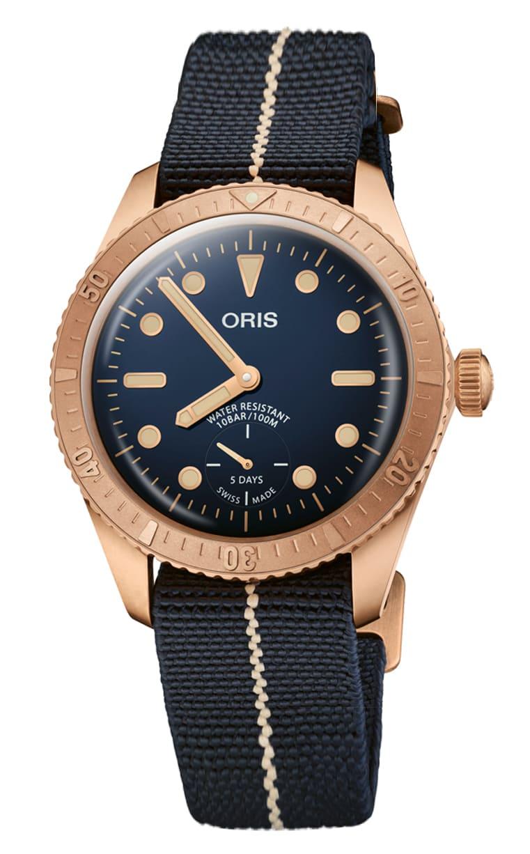 Часы лимитированной серии Oris Carl Brashear Cal.401 401.7764.3185-Set