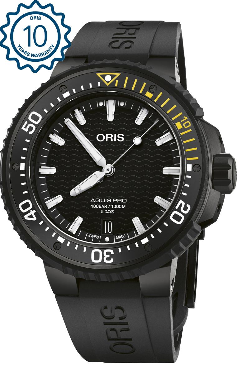 Часы Oris Aquis Pro 400 7767 7754 4 26 64BTEB
