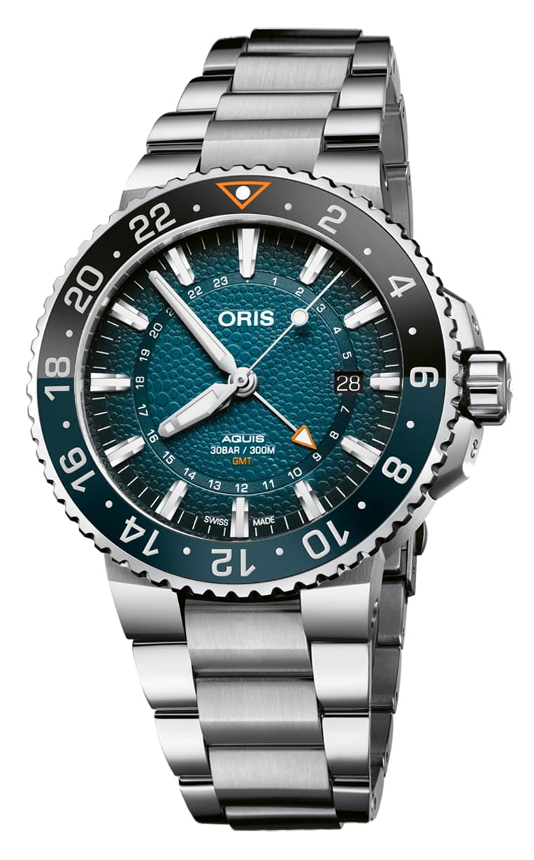 Часы Oris Whale Shark Limited Edition 798.7754.4175 Set