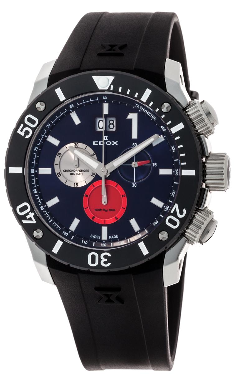 Часы Edox Chronoffshore-1 Big Date 10020 3 BUIN3