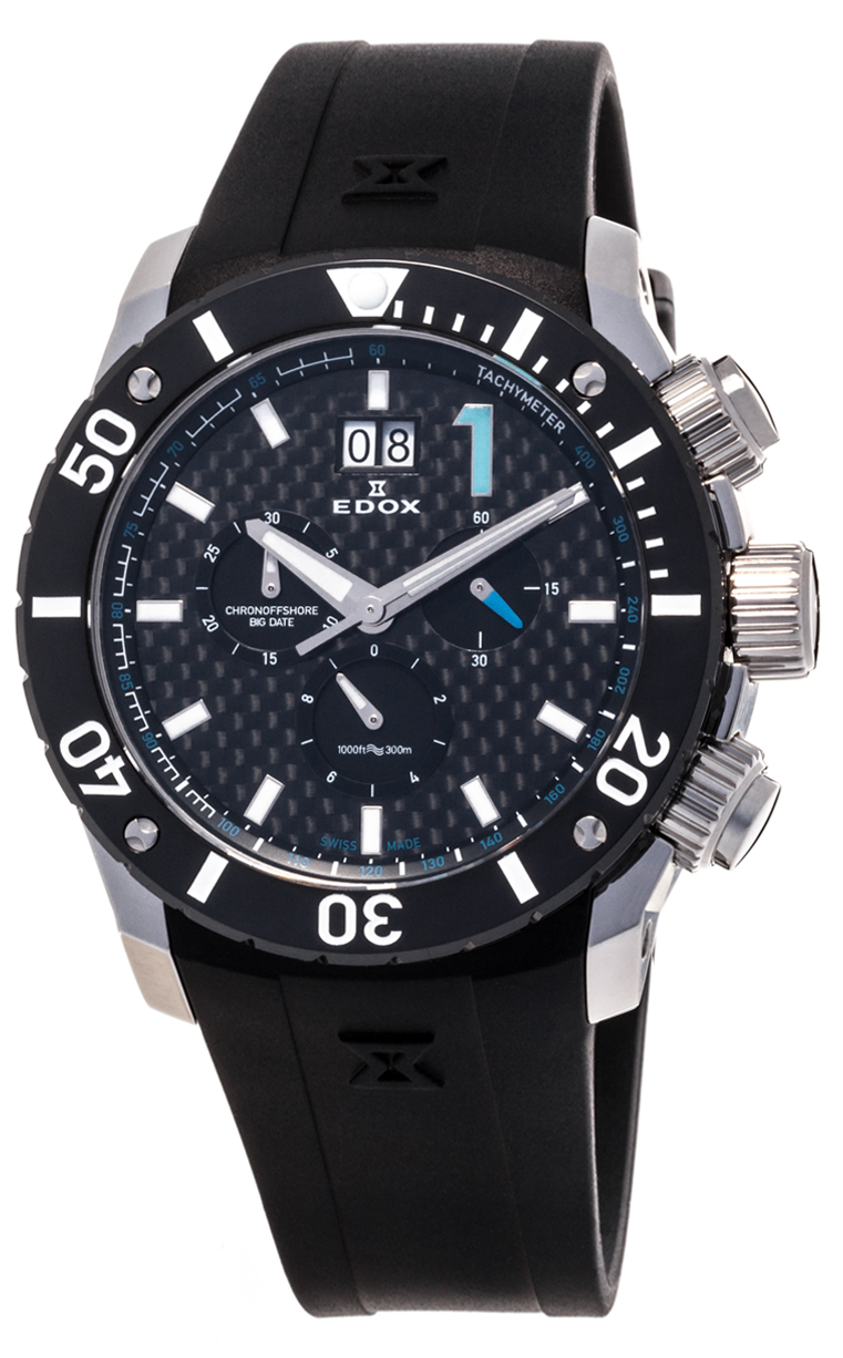 Часы Edox Chronoffshore-1 Big Date 10020 3 NBU