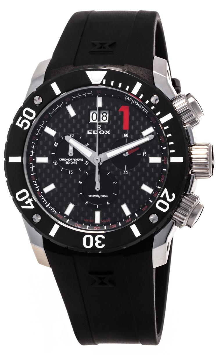 Часы Edox Chronoffshore-1 Big Date 10020 3 NIN