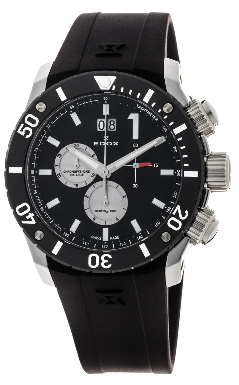 Часы Edox Chronoffshore-1 Big Date 10020 3 NIN3